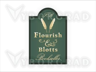Flourish & Blotts SVG