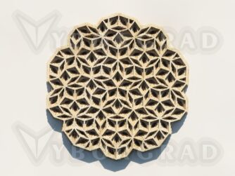 Multilayer Mandala cut files for laser